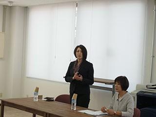 土岐山協子さんと熊田 芳江さん@おだしプロジェクトin郡山