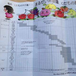 品種ごとの細かいカレンダー
