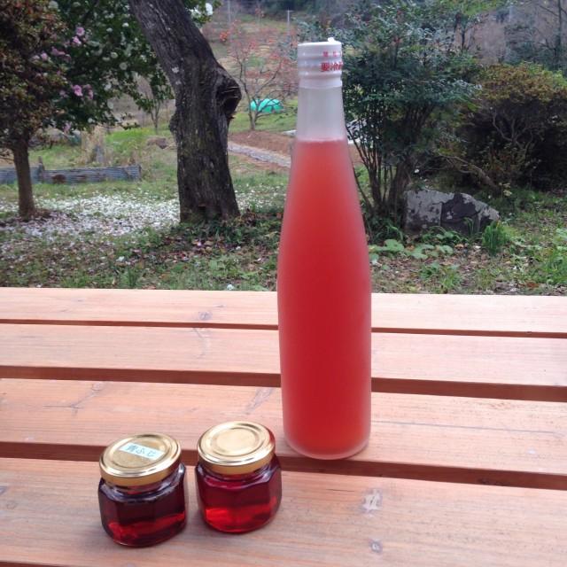 りんごラズベリージュース