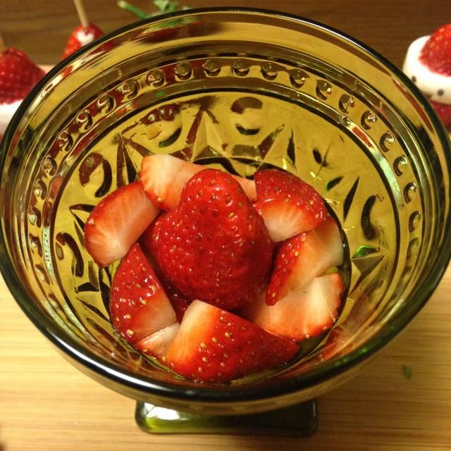 バルサミコ酢+はちみつのソース