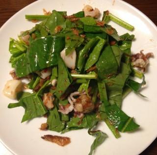 ホウレンソウのアジア風サラダ