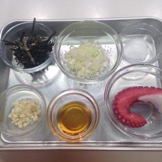 レタスサラダ材料