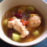 キュウリと生姜の薬膳スープ